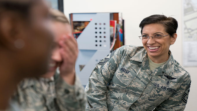 AFRC command chief visits 413th FTG