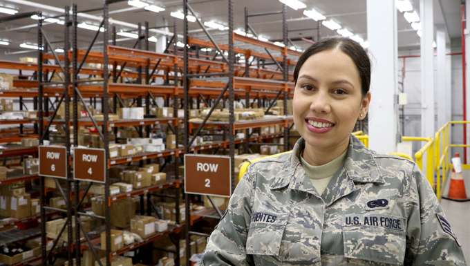 Senior Airman Julimar Fuentes performed her duties that day just as she has every day for the past two years as a registered nurse.