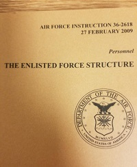 Image of Air Force Handbook 36-2618 which links to the document