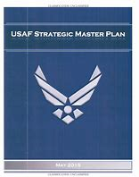 Image of USAF Strategic Master Plan which links to document