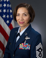Command Chief Master Sgt. Ericka E. Kelly