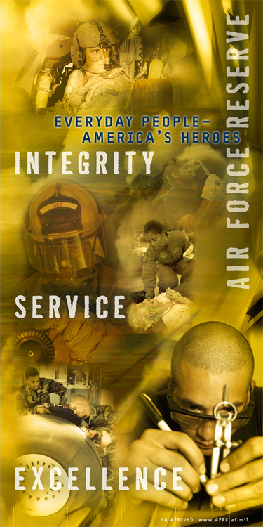 Everyday Heroes of the Air Force Reserve