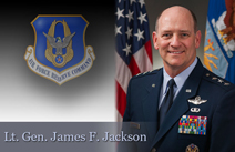 Lt. Gen. James F. Jackson, chief of AF Reserve and commander, Air Force Reserve Command