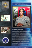 Chief Master Sgt. Jamesha Barnes