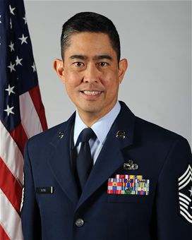 Command Chief Master Sgt Brian C.L. Wong