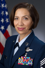 Command Chief Master Sgt. Ericka Kelly
