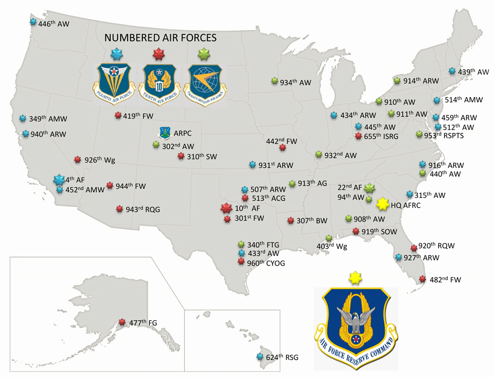 Air Force Base Map ~ AFP CV