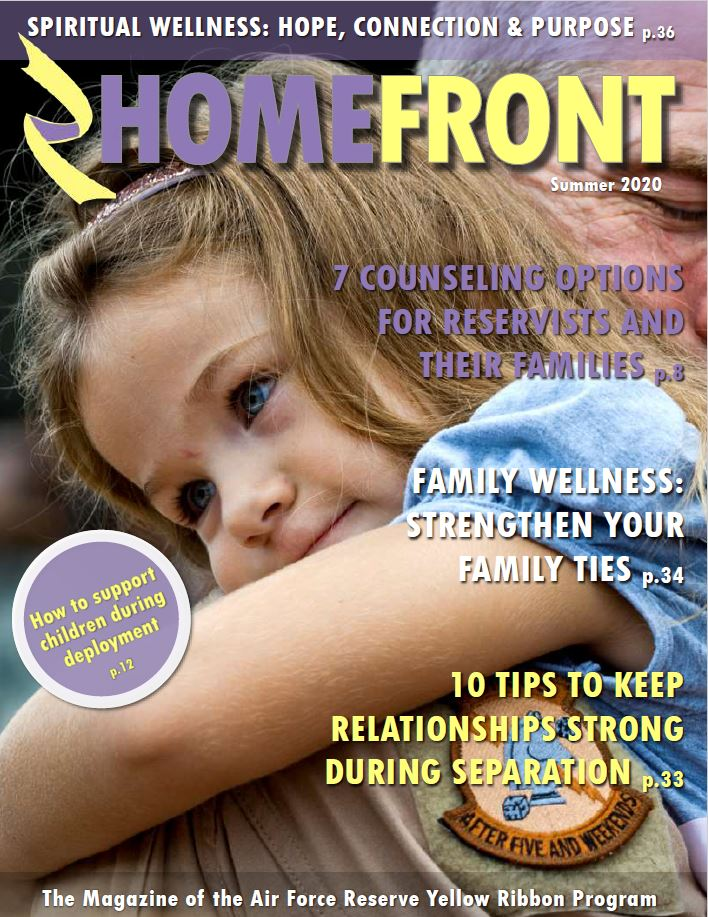 Image of Homefront magazine front page that links to pdf